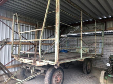 Remolque agrícola Ballengatterwagen Plataforma forrajera usado