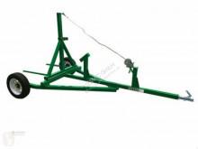 Remolque agrícola volquete con cortina Anhänger Geo BT Ballenanhänger Rundballenanhänger ATV Quad NEU