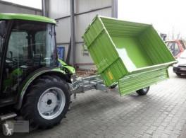 Remolque agrícola volquete con cortina Dreiseitenkipper Anhänger Kipper TPS PV4000 4 to NEU