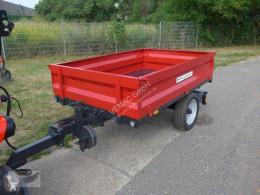 Remolque agrícola Kippanhänger Kipper Anhänger Heckkipper 1.500kg 1,5ton NEU volquete con cortina nuevo