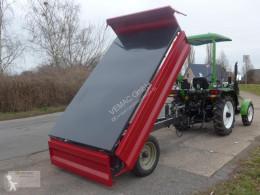 Remolque agrícola Dreiseitenkipper 3-Seitenkipper Kipper NEU 3.000kg 3ton volquete con cortina nuevo