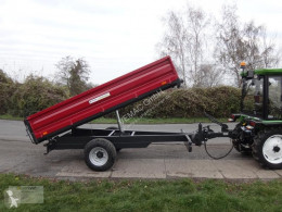 Remolque agrícola volquete con cortina Dreiseitenkipper 3-Seitenkipper Kipper NEU 4.500kg