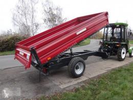 Remolque agrícola Dreiseitenkipper 3-Seitenkipper Kipper NEU 6.000kg volquete con cortina nuevo
