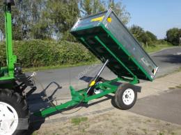 Remolque agrícola VEMAC Anhänger Kippanhänger Kipper NEU 1.5to Traktor volquete con cortina nuevo