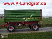 Remolque agrícola Pronar PT 612 volquete con cortina nuevo