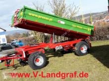 Remolque agrícola volquete con cortina Pronar T 653/2