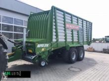 Remolque agrícola remolque con descarga por empuje Bergmann Repex 33K