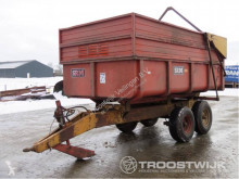 Schuitemaker monocoque dump trailer