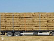 مقطورة زراعية Wielton PRS 18 منصة نقل الأعلاف مستعمل