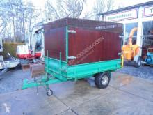 Kieper 3-zijde Houtsnipper opbouw used Forestry trailer