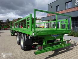 Plataforma forrajera Pronar gebr Ballenwagen TO 25, 12 to. Druckluft, 2-Achser