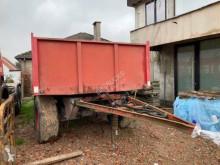 Remolque agrícola DSV Belle DTM remorque à 2 essieux BPW volquete con cortina usado
