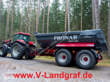 Remolque agrícola benne TP Pronar T 701 HP