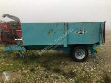 DEVES GVL 40 used agricultural monocoque dump trailer