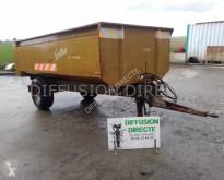 Remolque agrícola Grollier benne agricole 6000 usado