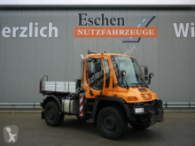 Camion déneigeuse Unimog U400 U400 4x4, 405/12, Zapfwelle, Kommunalplatte