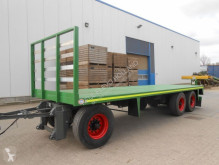 Balen/kisten transport used Fodder flatbed