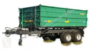 used monocoque dump trailer
