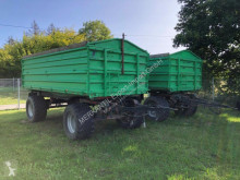 Remolque agrícola volquete con cortina ITAS TP120 2x18t Zug (2 Stück)