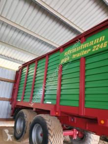 Remolque agrícola Strautmann Giga Trailer 2246 volquete monocasco usado