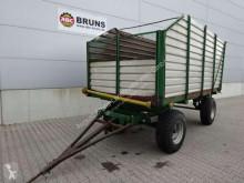 Remolque agrícola volquete con cortina 6000 R