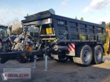 Fliegl ASW 252 Stone Black Bull Schwerlast-Abschiebewagen släpvagn med skjutbar bakdel begagnad
