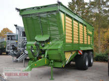 Krone box hook lift system farming trailer TX 460 GL mit Laderaumabdeckung