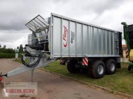 Reboque agrícola Fliegl ASW 271 C FOX 35m³ Lenkachse reboque com empurrador de carga novo
