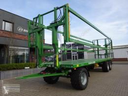 Przyczepa do słomy Pronar Ballenwagen TO 26 M, 18 t., Druckluft, 3-achser