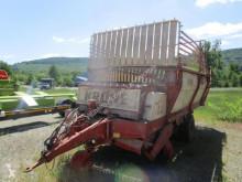 Reboque agrícola Reboque autocarregadora Krone HSL 2502