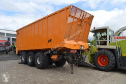 Krustijens Silo-Transportwagen еднокорпусно ремарке втора употреба