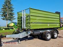 Remolque agrícola Fliegl TDK 200 FOX + hydr. Rückwand 23m³ volquete con cortina nuevo