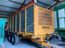 Veenhuis 18-2 silagewagen еднокорпусно ремарке лентов втора употреба