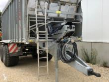 Reboque agrícola Fliegl Gigant ASW 271 reboque com empurrador de carga usado
