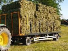 Remolque agrícola Wielton PRS 16 to Plataforma forrajera usado