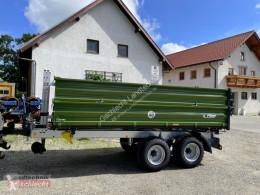 Reboque agrícola Fliegl TDK 80 VR-FOX reboque plataforma novo