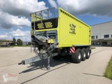 Remolque agrícola remolque con descarga por empuje Fliegl ASW 381 Green Tec