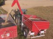 Reboque agrícola reboque de trasfega T