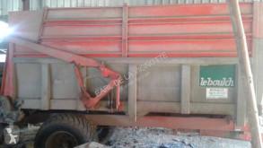 Remolque agrícola volquete monocasco de cinta Leboulch