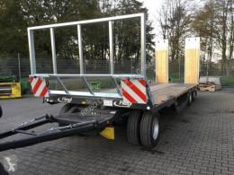 Flatbed trailer/blokvogn Fliegl DTL 300 P AGRAR