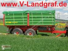 Remolque agrícola Pronar T 683 volquete con cortina usado
