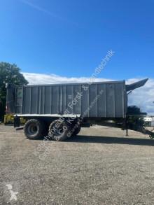 Remolque agrícola Fliegl ASW 268 remolque con descarga por empuje usado