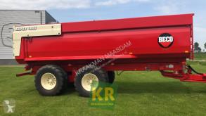 Reboque agrícola reboque basculante Beco SUPER 1800 III gestuurd