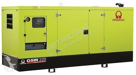 Ver las fotos Material de obra Pramac GSW220P PERKINS 220 KVA   snsp1118