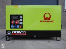 material de obra Pramac GBW 22 KVA - Perkins