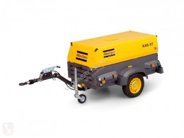 Atlas Copco XAS 97 DD - N WHEELS NEW construction used compressor