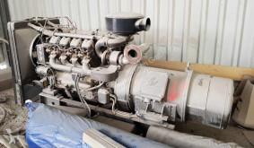 Entreprenørmaskiner MWM 140 KVA motorgenerator brugt