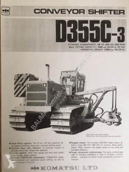 Komatsu D 355 C-3 CONVEYOR SHIFTER pipelayer brugt