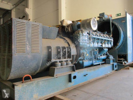 Építőipari munkagép 500 kVA használt áramfejlesztő