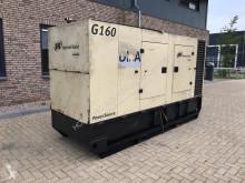 Entreprenørmaskiner Ingersoll rand G160 John Deere Leroy Somer 160 kVA Supersilent generatorset motorgenerator brugt